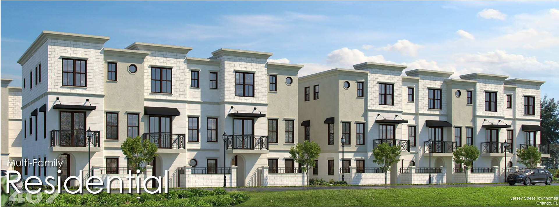 picture of a multifamily townhome complex: Jersey Street Townhomes